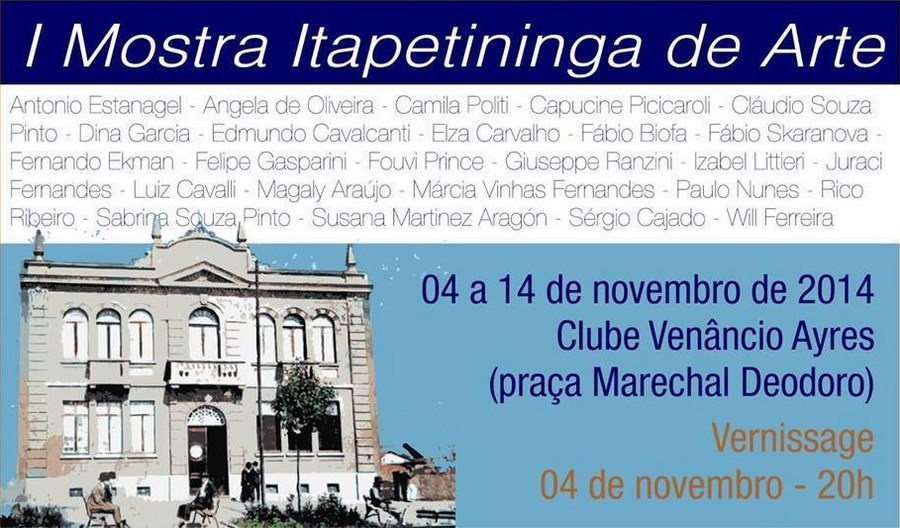 1ª Mostra Itapetininga of Art