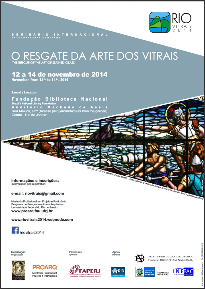 Rio Vitrais 2014, The Rescue of the Art of Stained Glass