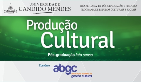 Open registration for New Class of the postgraduate course in Cultural production of the Candido Mendes University