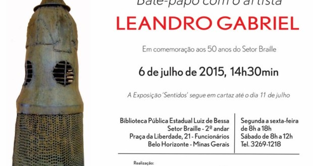 Chat invitation with Leandro Gabriel. Art: Edison Vilela de Freitas.