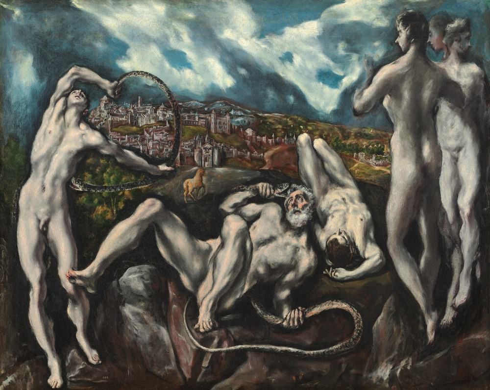 Laocoonte, El Greco, 1610-1614, Samuel H. Kress Collection.