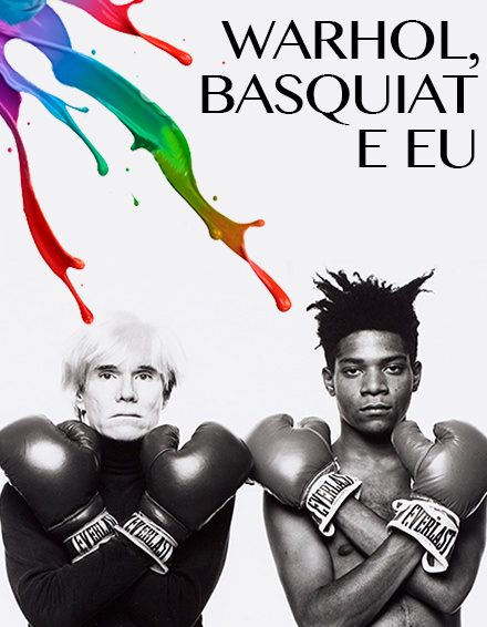 Warhol, Basquiat e Eu. Divulgation de photo.