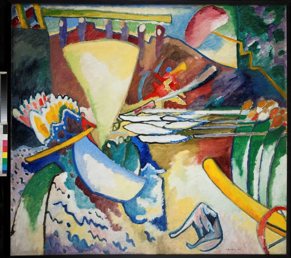 Improvisation number 11, 1910, Oil on canvas, Russian State Museum. © Kandinsky, Wassily.