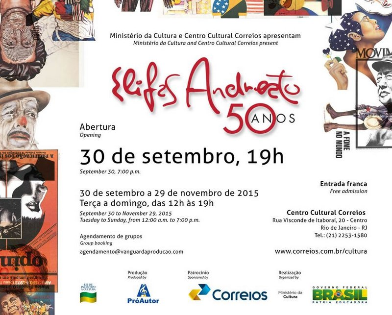 Candy Invitation Andreato, 50 years.