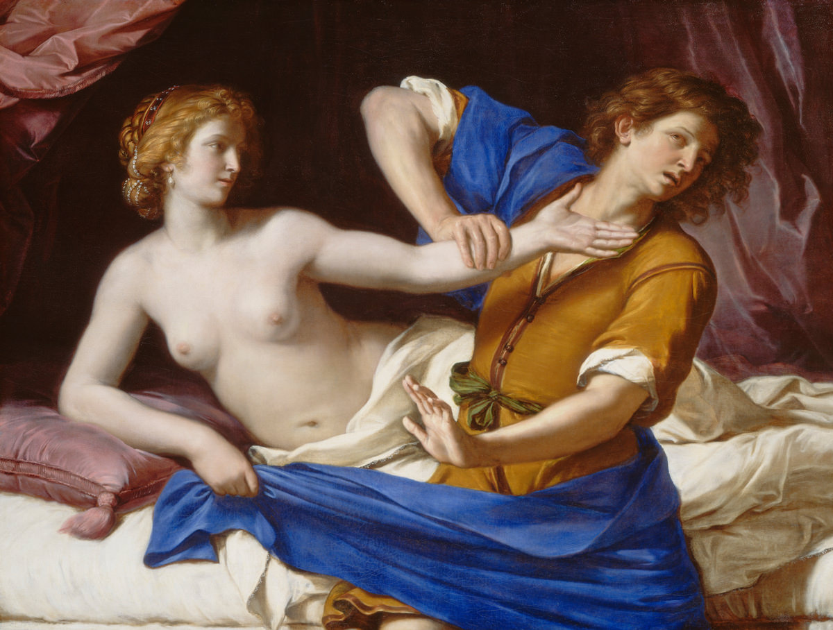 Fig. 7 – José e a esposa de Potifar, 1649, Óleo sobre tela, Guercino, National Gallery of Art, Washington, Patrons' Permanent Fund.