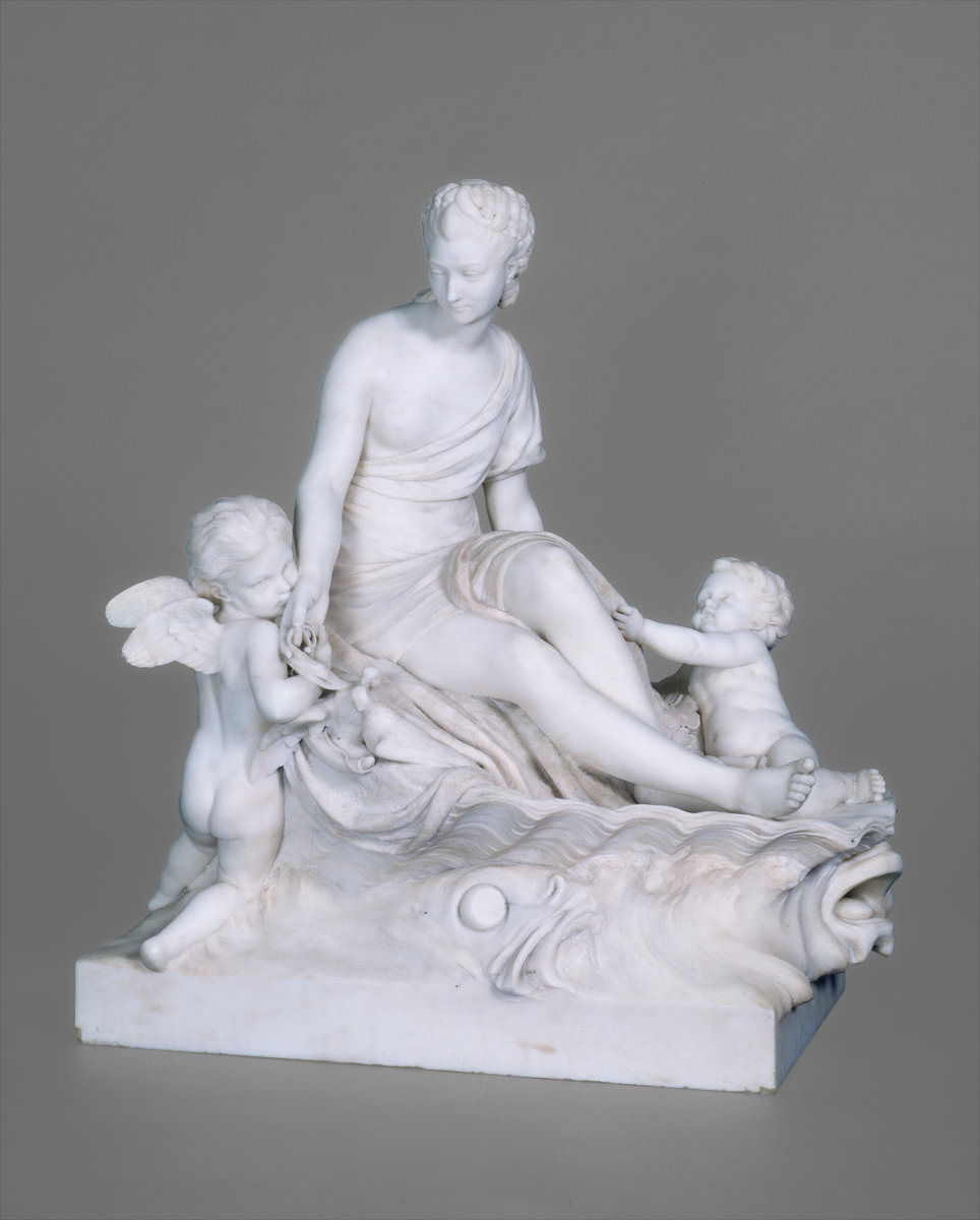 Fig. 5 – Vênus das Pombas, Etienne-Maurice Falconet 1716 – 1791, sem data, mármore, escultura, National Gallery of Art, Crédito Samuel H. Kress Collection.