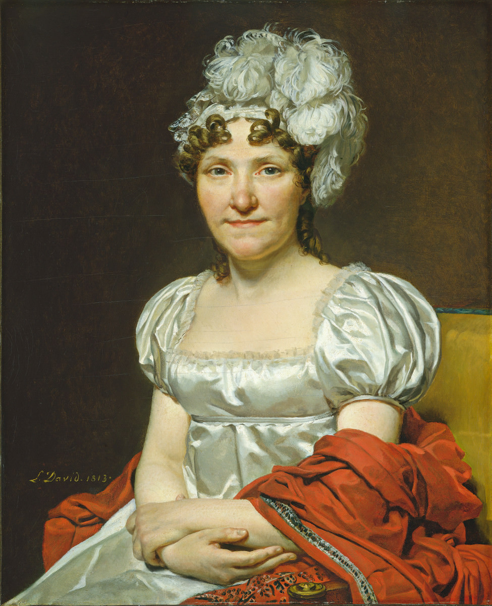 Fig. 6 – Madame David, Jacques-Louis David, 1813. Crédito: Samuel H. Kress Collection.