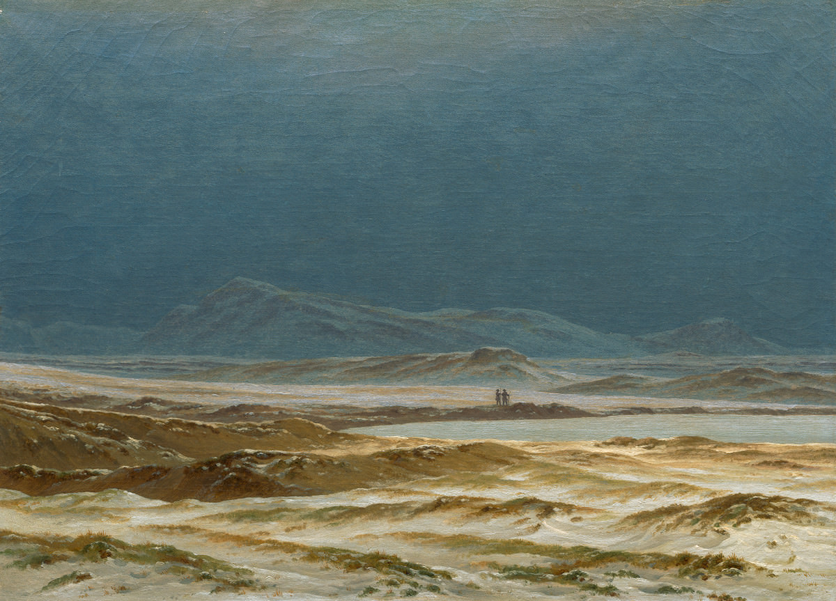 Fig. 10 – Paisagem de Primavera no Norte, Caspar David Friedrich, 1825. National Gallery of Art, Washington. Patrons' Permanent Fund.