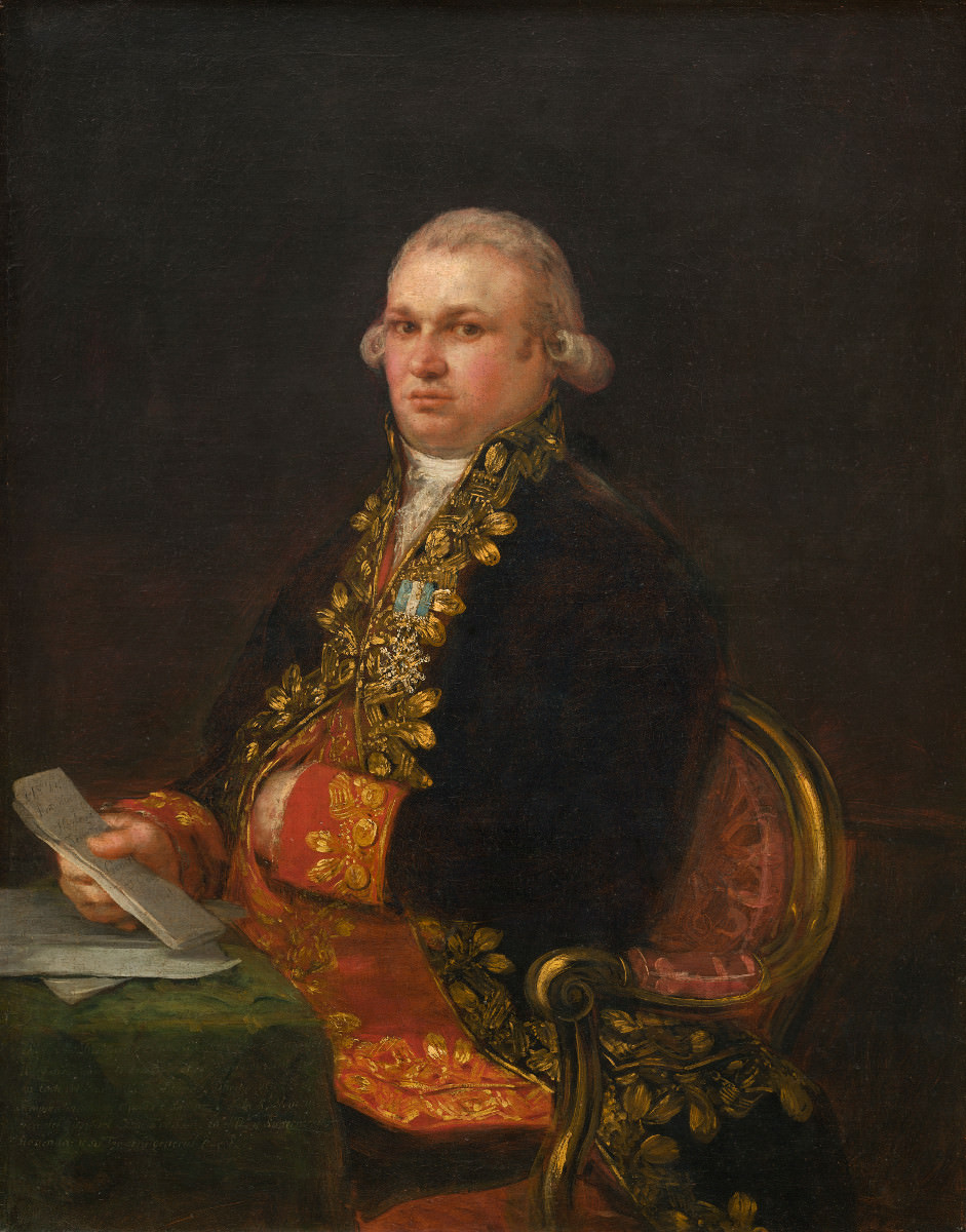 Feige. 17 -Don Antonio Noriega, Francisco de Goya, 1801. National Gallery of Art, Washington. Samuel H. Kress-Sammlung.