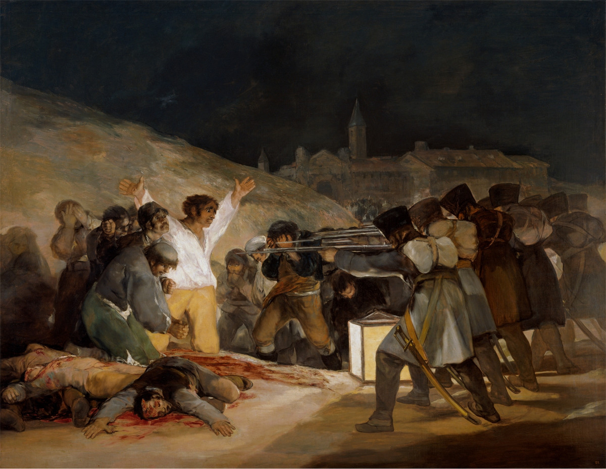 Fig. 20 – The Shootings of 3 de Mayo, Francisco de Goya, 1814. Museo del Prado.