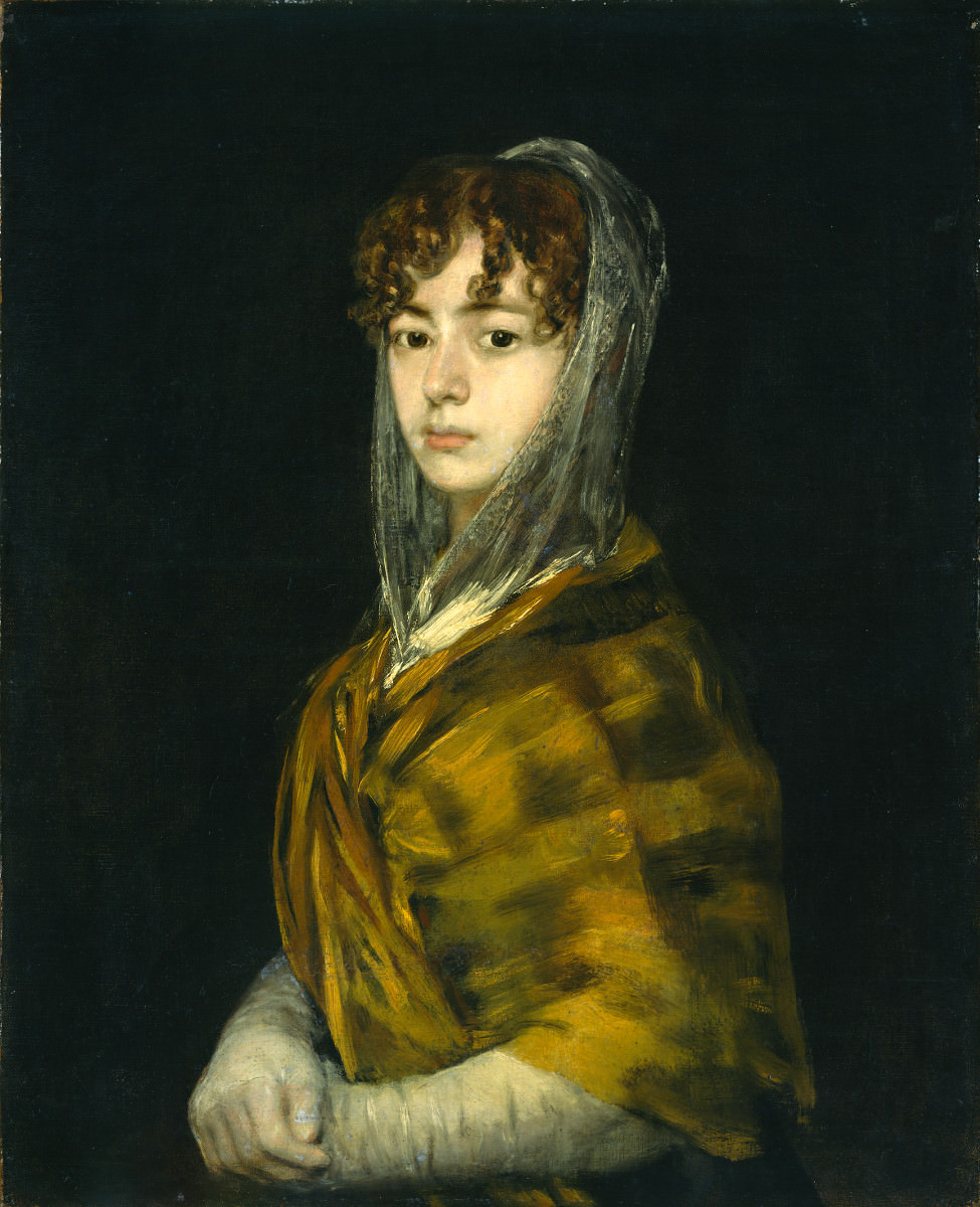 Fig. 19 – Senhora Sabasa Garcia, Francisco de Goya, 1806-1811. National Gallery of Art, Washington. Andrew W. Mellon Coleção.