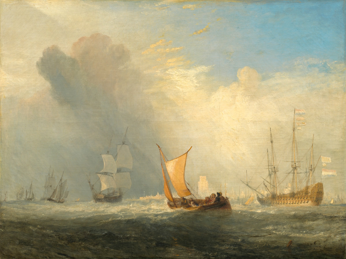 Fig. 11 – A Balsa de Rotterdam, Joseph Mallord William Turner, 1833. National Gallery of Art, Washington. Ailsa Mellon Bruce Coleção.