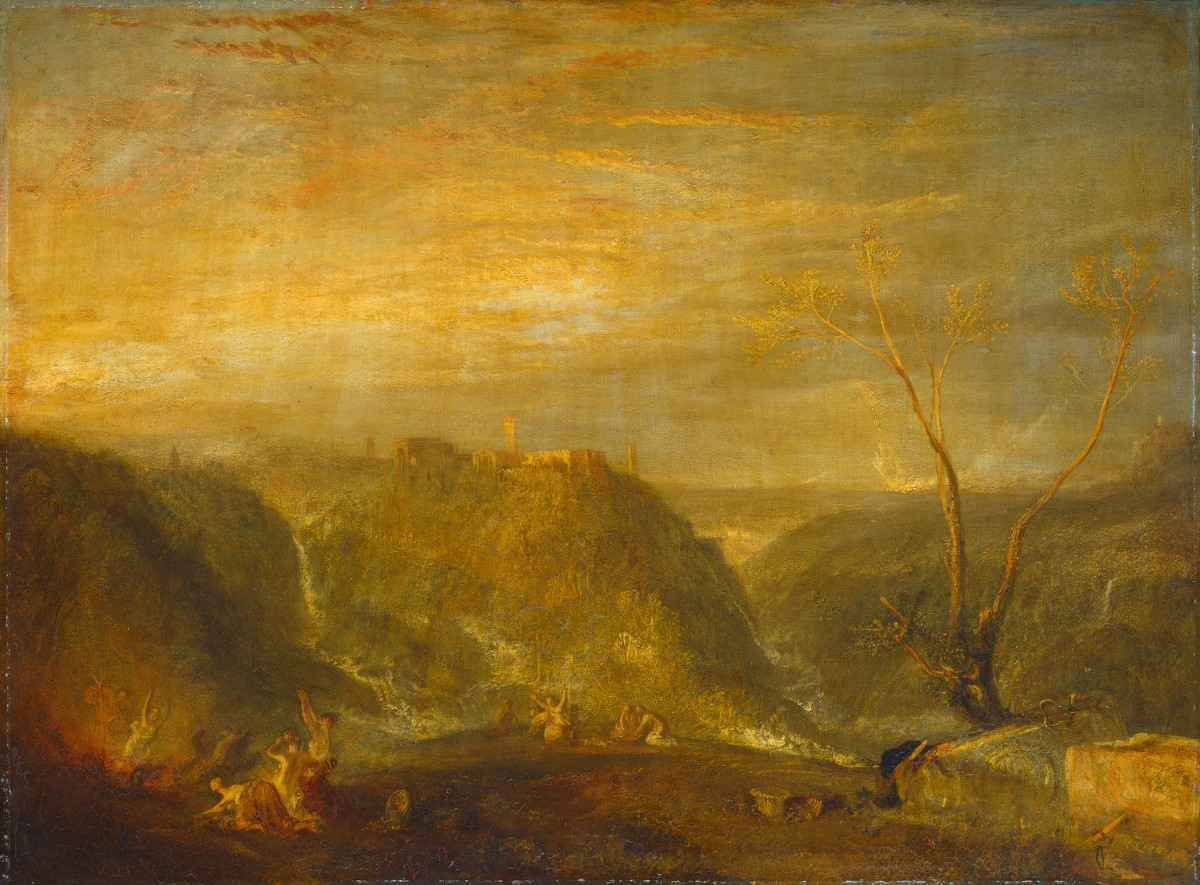 Fig. 14 – O Rapto da Proserpina, Joseph Mallord William Turner, 1839. National Gallery of Art, Washington. Presente de Mrs. Watson B. Dickerman.