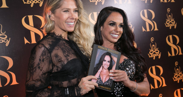 Adriane Galisteu and Renata Spallicci. Photo: Rodrigo Ono / MF Global Press.
