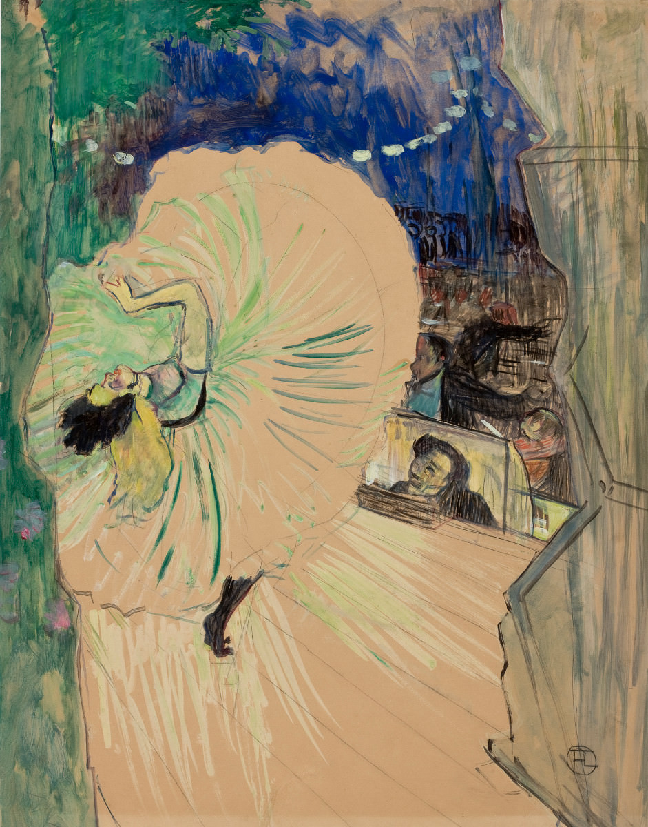 Fig. 2 -The Wheel, Toulouse-Lautrec, 1893. Photo: SÃO PAULO MUSEUM Of ART Collection.