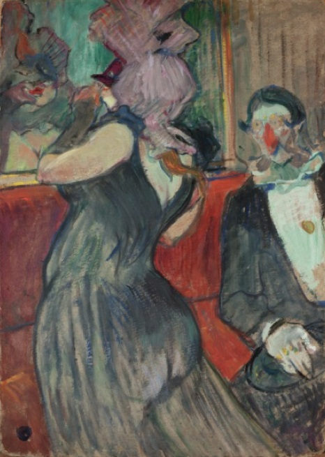 Fig. 4 -Rest for the masquerade ball, Toulouse-Lautrec, 1899. Photo: Disclosure.