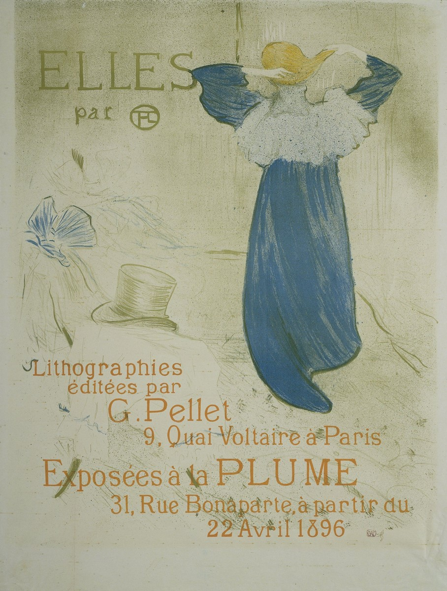 Fig. 14 -Frontispiece to Elles, Toulouse-Lautrec, 1895. Photo: Disclosure.