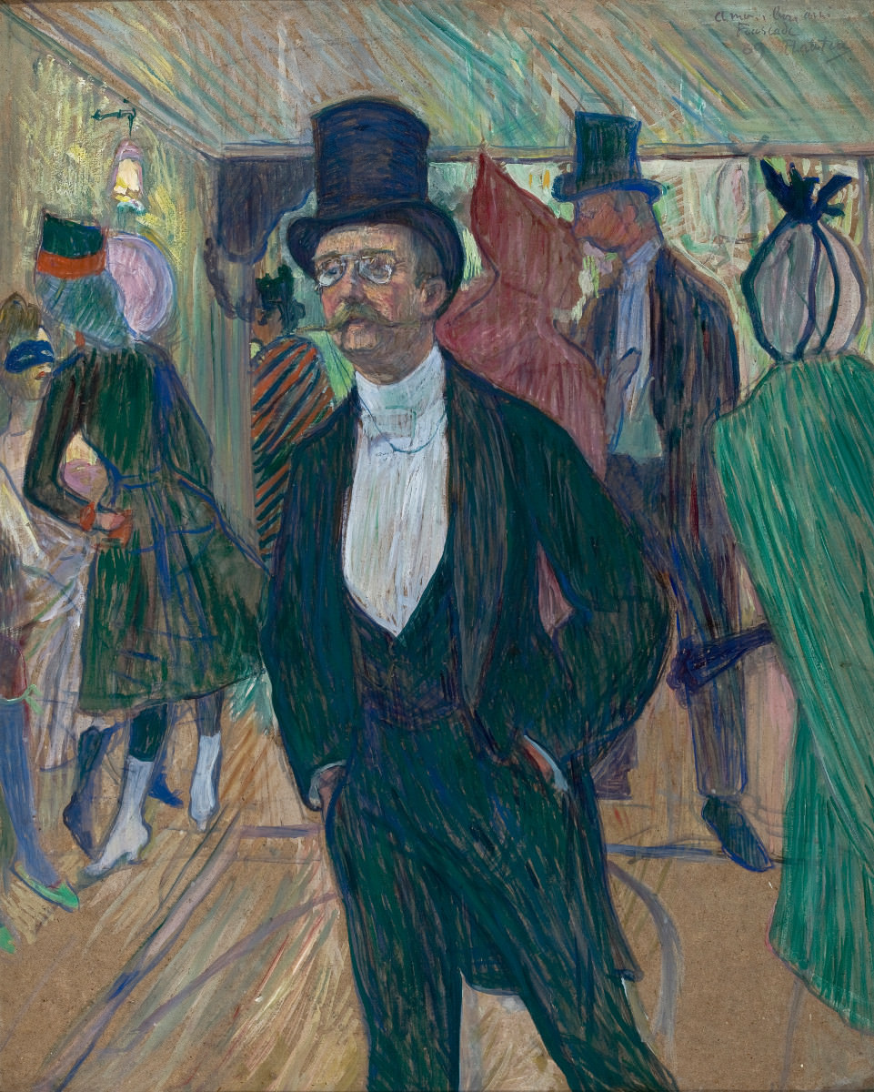 Fig. 9 – Mr Fourcade, Toulouse-Lautrec, undated. Photo: Disclosure.