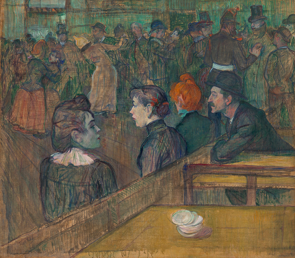 Figue. 11 -Moulin de la Galette, Toulouse-Lautrec, 1889. Photos: Divulgation.