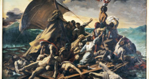 Fig. 17 – The Wreck of Medusa, Victor Meirelles, 1857. Victor Meirelles Museum.