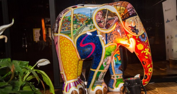 Elephant Parade Sao Paulo 2017. Photo: Fotograferia Light.