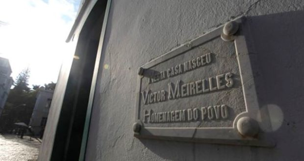 Museu Victor Meirelles, Homage in People. Photo: Victor Meirelles Museum.