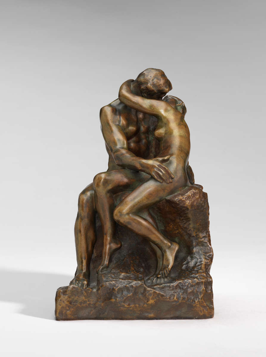 Fig. 16 -El beso, Auguste Rodin, modelo 1880-1887, fundido entre 1896-1902. National Gallery of Art, Washington. Regalo de la señora. John W. Simpson.