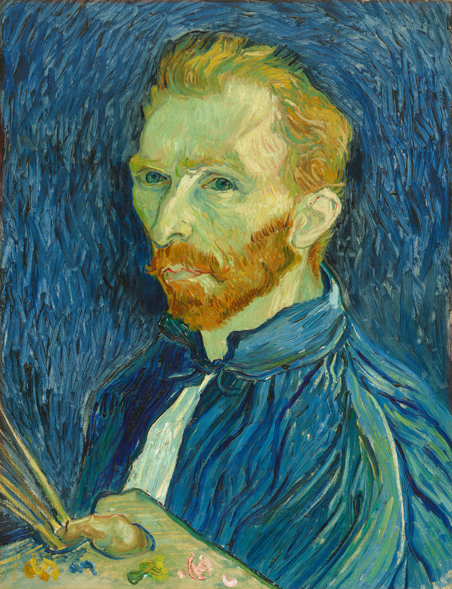 Fig. 15 -Autorretrato, Vincent Van Gogh, 1889. National Gallery of Art, Washington. Colección Sr.. y Sra.. John Hay Whitney.
