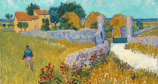 Figue. 13 -La ferme en Provence, Vincent Van Gogh, 1888. National Gallery of Art, Washington. Ailsa Mellon Bruce Collection.