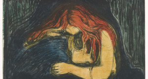 Figue. 13 - Edvard Munch: vampiro II, 1895-1902, Lithographie, 380-387 x 550-560 mm. Musée Munch, Oslo. Photo © Musée Munch.