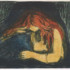 Fig. 13 – Edvard Munch: Vampire II, 1895-1902, lithograph, 380-387 x 550-560 mm. Munch Museum, Oslo. Photo © Munch Museum.