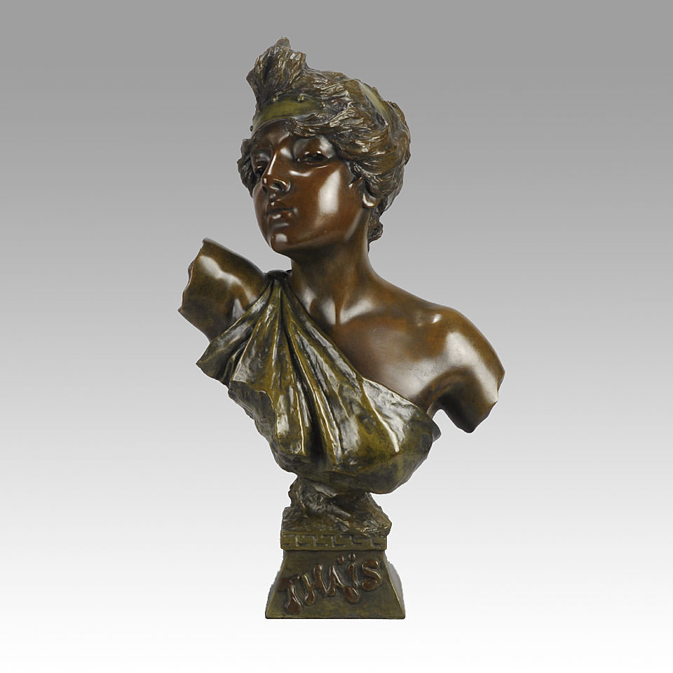 Figue. 8 - Thaïs, Emmanuel Villanis, 1890, Bronze, 55 cm. Hickmet Beaux-Arts ©.