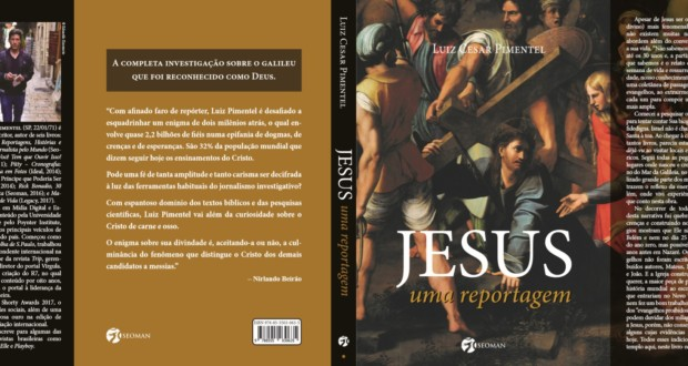 "Book ""Jesus, A Reportage ""Luiz Cesar Pimentel, cover. Photo: MF Global Press."