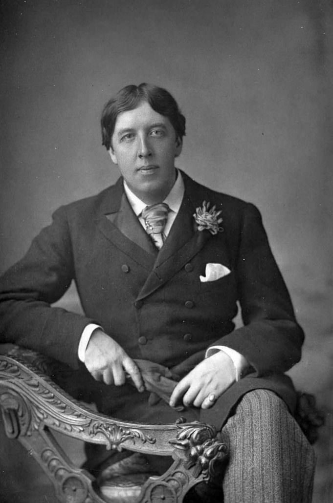 Oscar Wilde, 1854 – 1900. Foto: W. and D. Downey em 23 de mario de 1889. CMG Worldwide.
