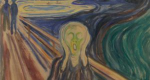 Fig. 4 – Edvard Munch: The Scream, 1910, Tempera and oil on unprimed cardboard, 83,5 x 66 cm, featured. Munch Museum, Oslo. Photo © Munch Museum.
