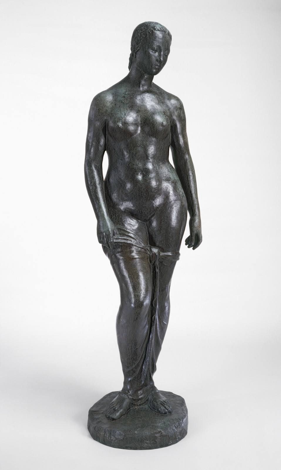 Fig. 3 – Mulher em Pé, Wilhelm Lehmbruck, 1910, bronze, 191.2 x 54 x 39.9 cm. National Gallery of Art, Washington. Fundo Ailsa Mellon Bruce.