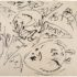 Fig. 4 – Untitled, c. 1952-1956, Jackson Pollock, ink on paper, 17 1/2 x 22 1/4 inches, 44,5 x 5x,5 cm. Courtesy of Michael Rosenfeld Gallery LLC, New York, NY, USA.