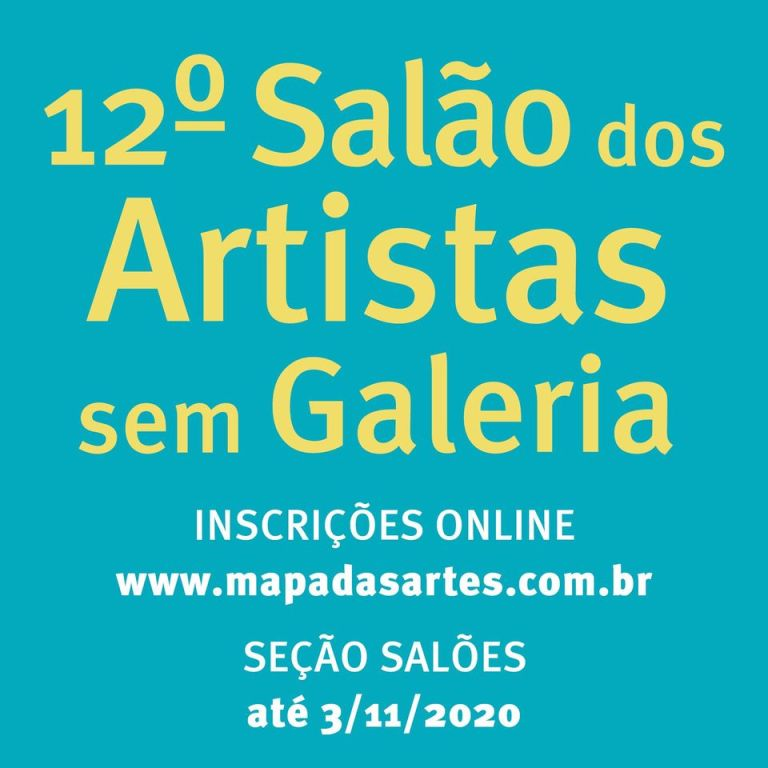 12ª Artists' Hall Without Gallery. Disclosure.