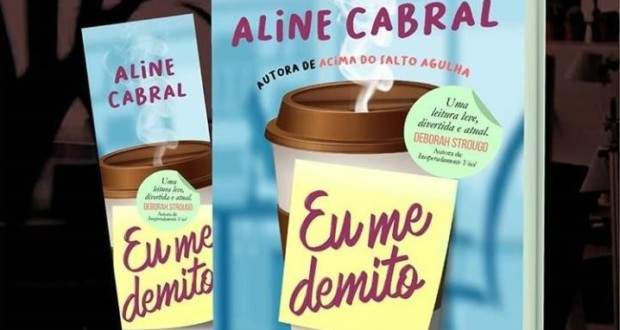 "Livro ""Eu me demito"", by Aline Cabral, cover - featured. Disclosure."