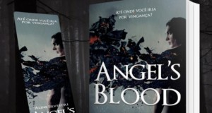 "Livro & quot; Angels Blood"" di Aline Silvestri, in primo piano. Rivelazione."