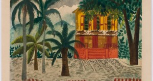 Casa Carioca - Ione Saldanha, Untitled, No date, Watercolor on paper. Disclosure.