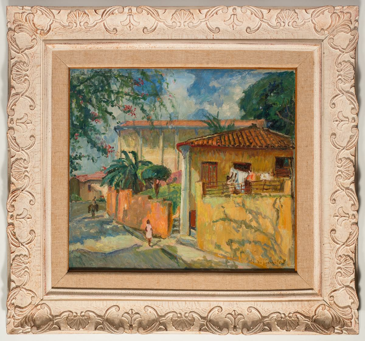 Casa Carioca - Marie Nivoulies de Pierrefort House of Glory, [The 1950], Oil on canvas. Disclosure.