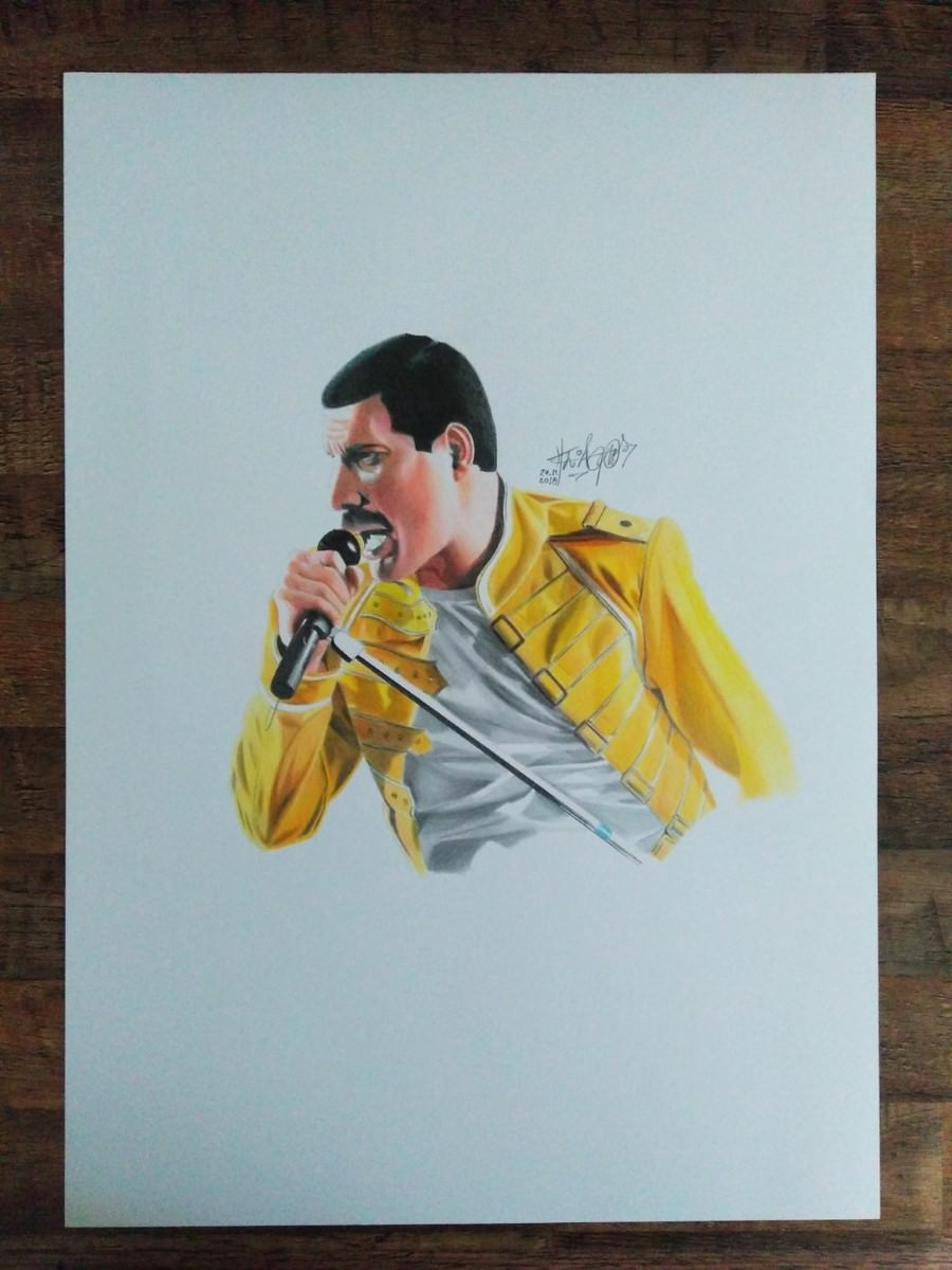 Freddy Mercury by Thiago Rocha. Photo: Disclosure.