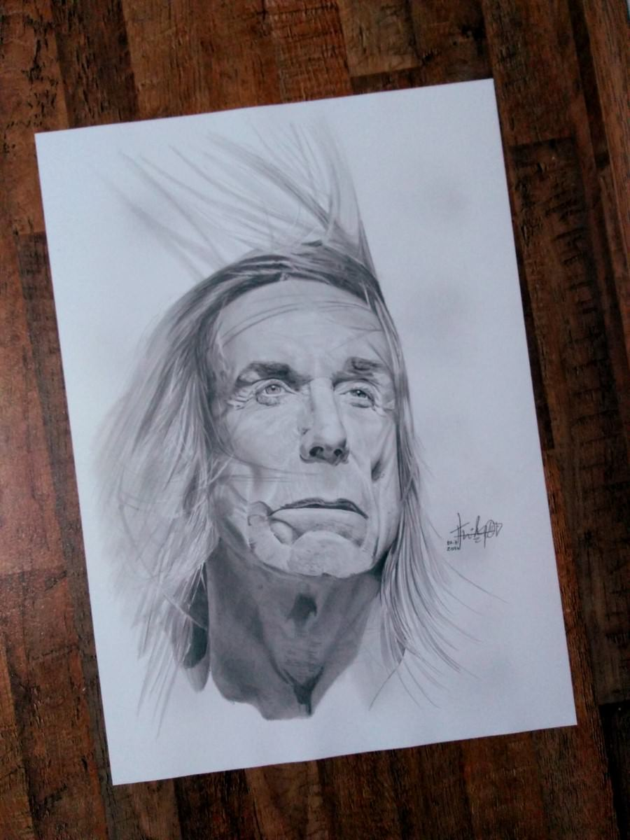 Iggy Pop by Thiago Rocha. Photo: Disclosure.
