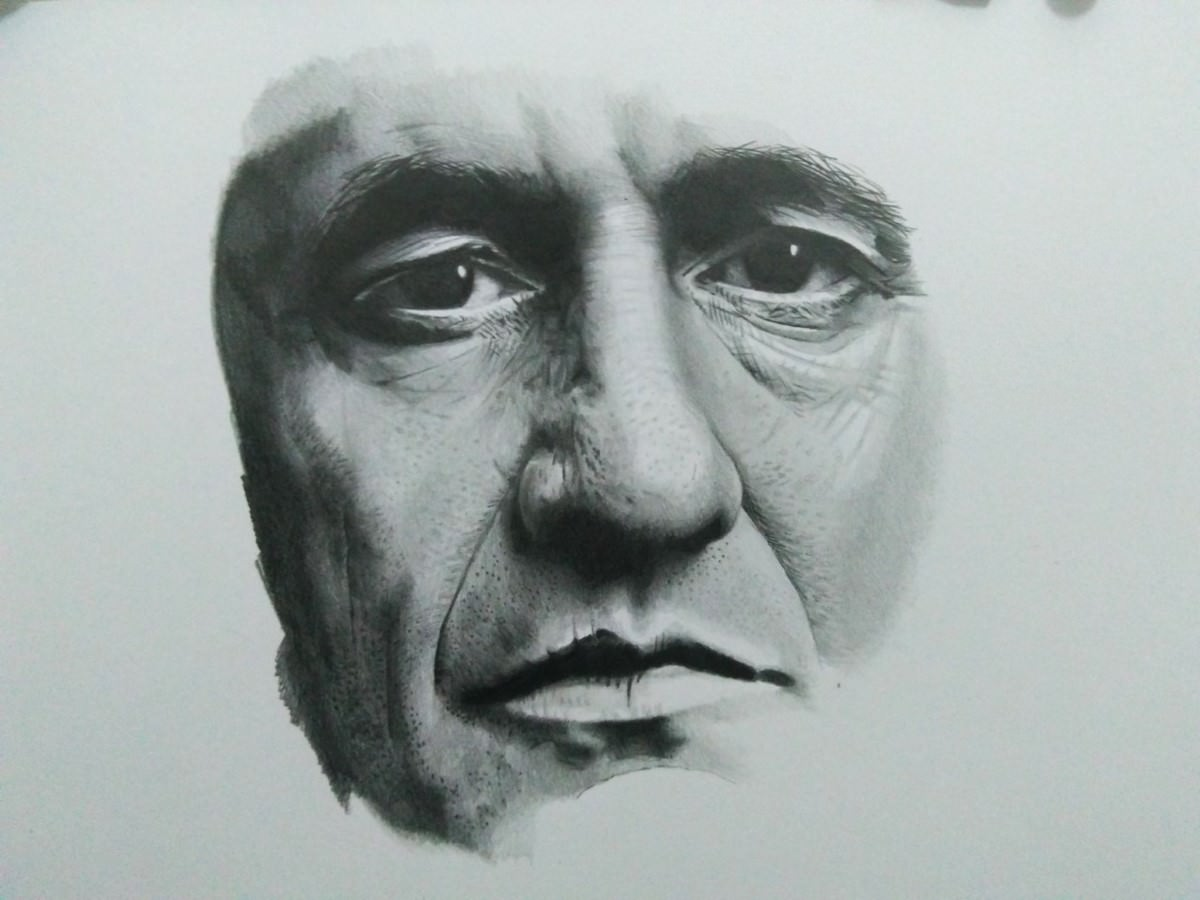 Johnny Cash by Thiago Rocha. Photo: Disclosure.