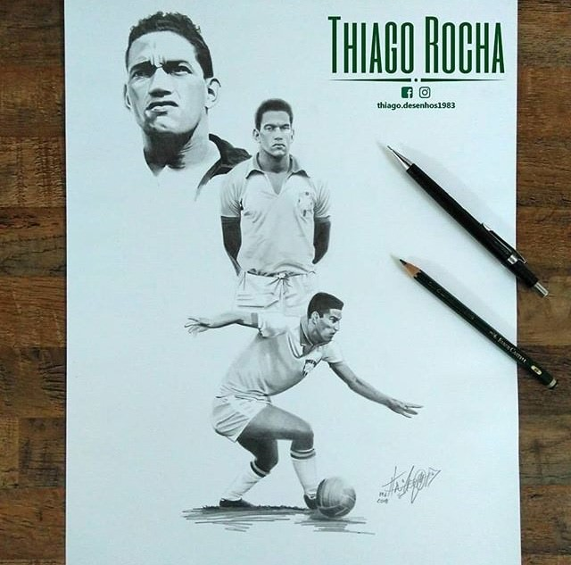 Mané Garrincha by Thiago Rocha. Photo: Disclosure.