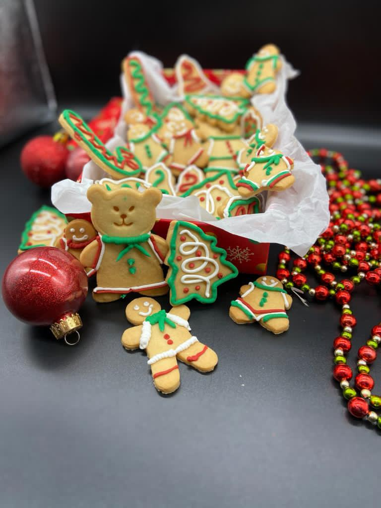 Christmas cookies by Pastry Chef Flávio Duarte. Photo: Disclosure / MF Global Press / Personal collection.