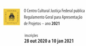 CCJF publishes General Regulations for Project Presentation 2021, banner, featured. Disclosure.