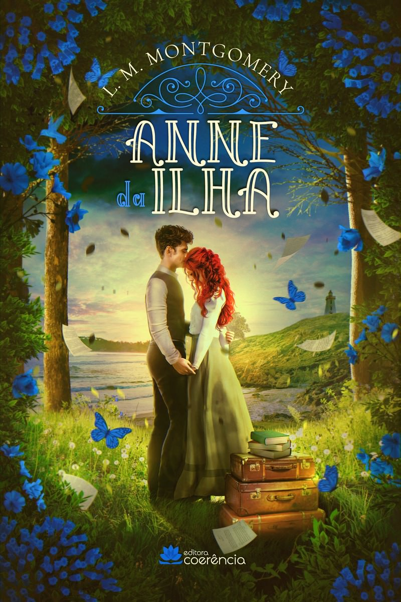 Anne of the Island (Book 3) of L. M. Montgomery, cover. Disclosure.