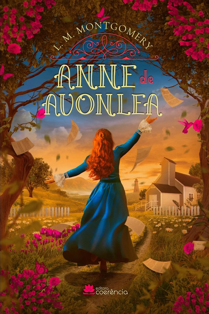 Anne de Avonlea (Book 2) of L. M. Montgomery, cover. Disclosure.